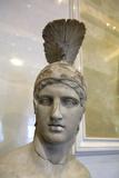 Head of Ares, God of War, Early 2nd Century Fotografie-Druck von Alkamenes Alkamenes