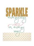 Sparkle Giclée-Premiumdruck von Jo Moulton