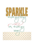 Sparkle Posters by Jo Moulton