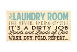 Laundry Room Posters van Erin Deranja