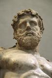 Statue of Heracles, 2nd Century Fotografisk trykk