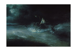 Poseidon's Travel over the Sea, 1894 Giclée-tryk af Ivan Konstantinovich Aivazovsky