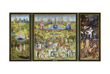The Garden of Earthly Delights, 1500S Giclée-tryk af Hieronymus Bosch
