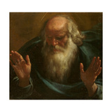God the Father, Early 17th C Giclée-tryk af Rutilio Manetti