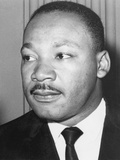 Martin Luther King Jnr, American Black Civil Rights Campaigner, C1968 Premium fototryk