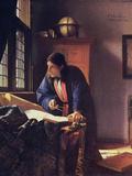 The Geographer, 1668-1669 Giclée-Druck von Johannes Vermeer