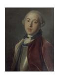 Portrait of Count Alexander Mikhaylovich Golitsyn Giclée-tryk af Pietro Antonio Rotari