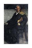 Violinist, Early 20th Century Gicléetryck av Maxime Dethomas