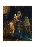 Pleasant Letter, 1860S Giclee Print by Alfred Stevens