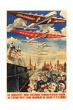 Long Live Our Happy Socialist Motherland, 1935 Giclee Print by Gustav Klutsis
