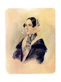 Portrait of Decembrist Baroness Anna Von Rosen (1797-188), 1832 Giclee Print by Nikolai Alexandrovich Bestuzhev