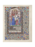The Presentation in the Temple (Book of Hour), 1440-1460 Giclee Print
