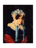 Portrait of Lyubov Ivanovna Stepovaya (1783-185), 1927 Giclee Print by Nikolai Alexandrovich Bestuzhev