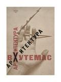 Architecture at Vkhutemas (Book Cove), 1927 Impressão giclée por El Lissitzky