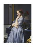 Louise De Broglie, Comtesse D'Haussonville, 1845 Giclee Print by Jean-Auguste-Dominique Ingres