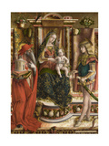 La Madonna Della Rondine (The Madonna of the Swallo), after 1490 Giclée-vedos tekijänä Carlo Crivelli