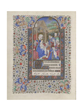 The Adoration of the Magi (Book of Hour), 1440-1460 Giclee Print