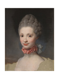 Portrait of Maria Luisa of Parma as Princess of Asturias, 1765 Giclee Print by Anton Raphael Mengs