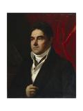 Portrait of Vasily Semyonovich Khvostov (1756-183), 1814 Giclee Print by Orest Adamovich Kiprensky