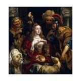 Cleopatra's Feast, 1653 Giclee-trykk av Jacob Jordaens