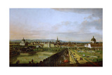 View of Vienna from the Belvedere, Between 1758 and 1761 Reproduction procédé giclée par Bernardo Bellotto