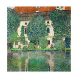 Schloss Kammer on Lake Attersee III, 1910 Giclée-Druck von Gustav Klimt