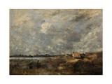 Stormy Weather. Pas De Calais, C. 1870 Reproduction procédé giclée par Jean-Baptiste-Camille Corot