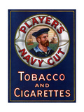 Advert for Player's Navy Cut Tobacco and Cigarettes, 1923 Lámina giclée