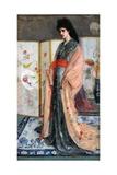 La Princesse Du Pay De La Porcelaine, 1864 Reproduction procédé giclée par James Abbott McNeill Whistler