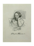 Portrait of the Poet Heinrich Heine (1797-185), 1851 Giclee Print by Charles Gleyre