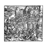 Siege of a Fortress, 1532 Giclee Print by Hans Holbein the Younger