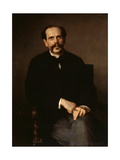 Portrait of a Man, 1861 Giclee Print by Ludwig Knaus