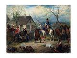 Scene from the Russio-French War in 1812 Giclee Print by Friedrich Kaiser