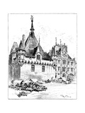 The Hotel De Ville, 1899 Giclee Print by Albert Robida