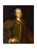 Portrait of Count Petr Panin (1721178), 1742 Giclée-Druck von Ivan Yakovlevich Vishnyakov