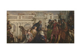 The Family of Darius before Alexander, C. 1565 Giclée-tryk af Paolo Veronese
