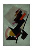Abstracte Composition. (Suprematis), 1910S Impressão giclée por Olga Vladimirovna Rozanova