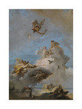 The Triumph of Venus, Between 1762 and 1765 Giclée-tryk af Giandomenico Tiepolo