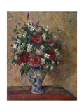 Still Life with Peonies and Mock Orange, 1872-1877 Reproduction procédé giclée par Camille Pissarro