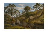 The Bath of Diana, Van Diemen's Land, 1837 Giclee Print by John Glover