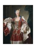 Portrait of Elisabeth Farnese, Queen Consort of Spain, 1723 Giclee Print by Jean Ranc