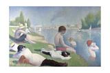 Bathers at Asnières (Baigneurs À Asnière), 1884 Reproduction procédé giclée par Georges Seurat