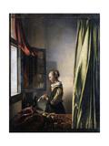 Girl Reading a Letter by an Open Window, Ca 1659 Giclée-Druck von Johannes Vermeer