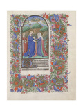 The Visitation (Book of Hour), 1440-1460 Giclee Print