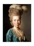 Portrait of Princess Natalya Petrovna Galitzine (1741-183), 1777 Giclee Print by Alexander Roslin