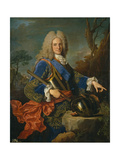 Portrait of Philip V (1683-174), King of Spain, 1723 Giclee Print by Jean Ranc