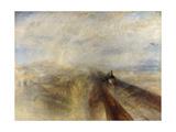 Rain, Steam, and Speed, the Great Western Railway, 1844 Giclée-Druck von J. M. W. Turner