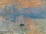 Impression, Sunrise (Impression, Soleil Levan), 1872 Giclée-tryk af Claude Monet