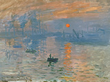 Impression, Sunrise (Impression, Soleil Levan), 1872 Giclee Print by Claude Monet