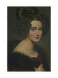 Portrait of Olimpiada Ryumina, 1826 Giclee Print by Orest Adamovich Kiprensky